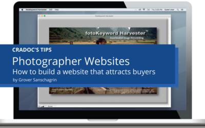 Work Smarter Not Harder – Photographer Websites